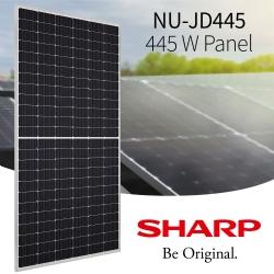 Sharp introduceert nieuw PV-zonnepaneel van 445 watt met half-cut-cell