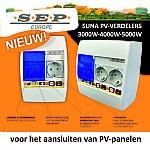 Aansluiten van PV -panelen met de SUNA PV-verdelers