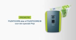 PLENTICORE plus of PLENTICORE BI voor een speciale Prijs, Actie voor Belgie