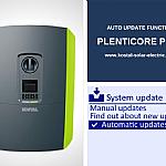 KOSTAL Auto Update Functie PLENTICORE PLUS