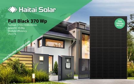 Full Black 370 Wp zonnepanelen Pre Order Now