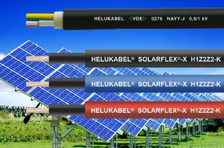 SOLARFLEX en NAYY-O: dé kabeloplossing voor grote oppervlakten