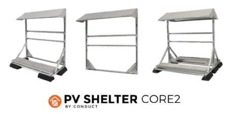 PVshelter CORE2 voor SUNNY TRIPOWER CORE2