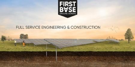 FIRST BASE Ground Screws & Solar Systems
