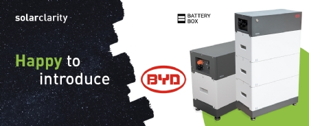 Solarclarity voegt BYD toe aan het assortiment