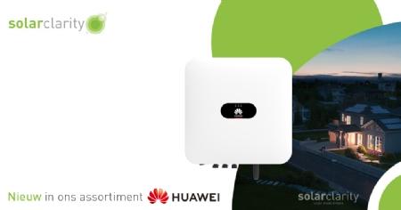 Solarclarity voegt Huawei toe aan het assortiment