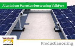 Productlancering: Aluminium Paneelondersteuning ValkPro+