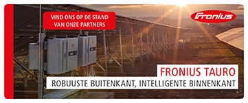 Banner: Fronius International GmbH