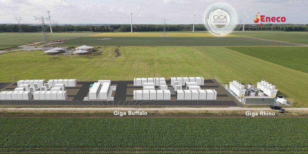 GIGA Storage en Eneco realiseren grootste batterij van Nederland