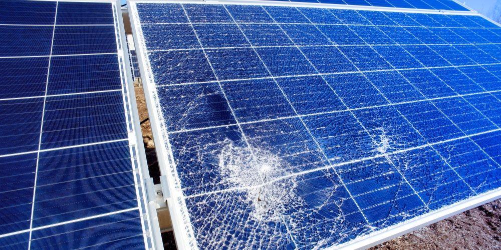 Zonnepanelen verzekeren tegen extreem weer wordt steeds belangrijker