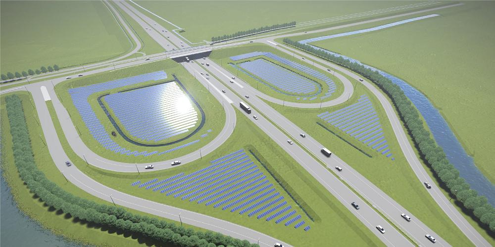 Rijkswaterstaat ziet toenemende interesse in zon op zijn netwerken