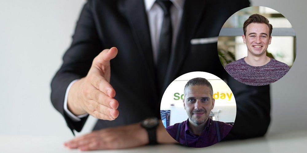 Nieuw in de sector: Jonas Rauhut van Solar Today en Robbert Esseling van Alius