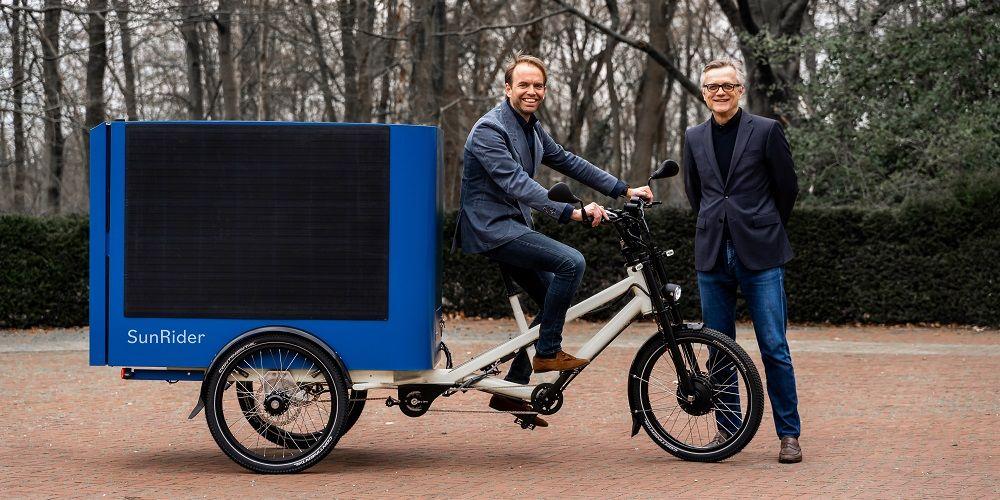 'Onze solar cargo e-bike gaat het stedelijk transport overnemen'