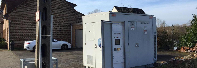 Belgen beproeven buurtbatterij