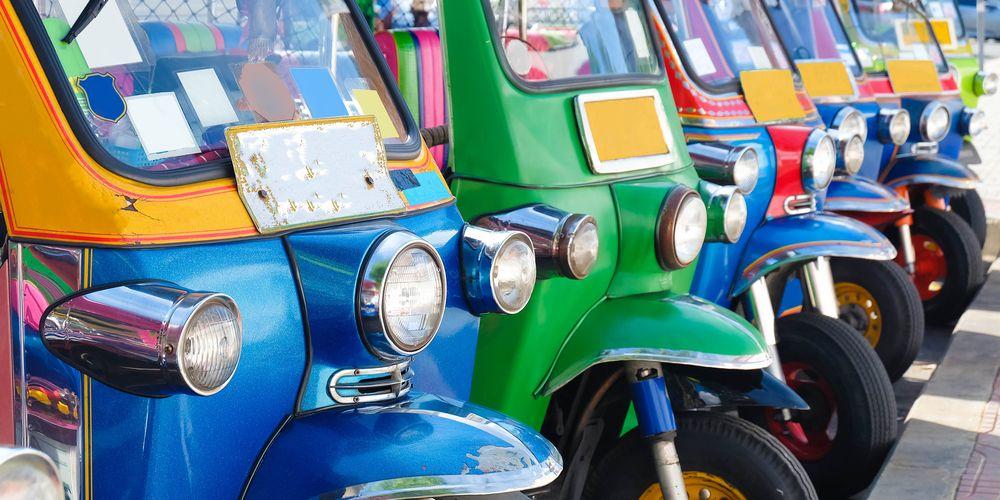 Tuktuk van de toekomst