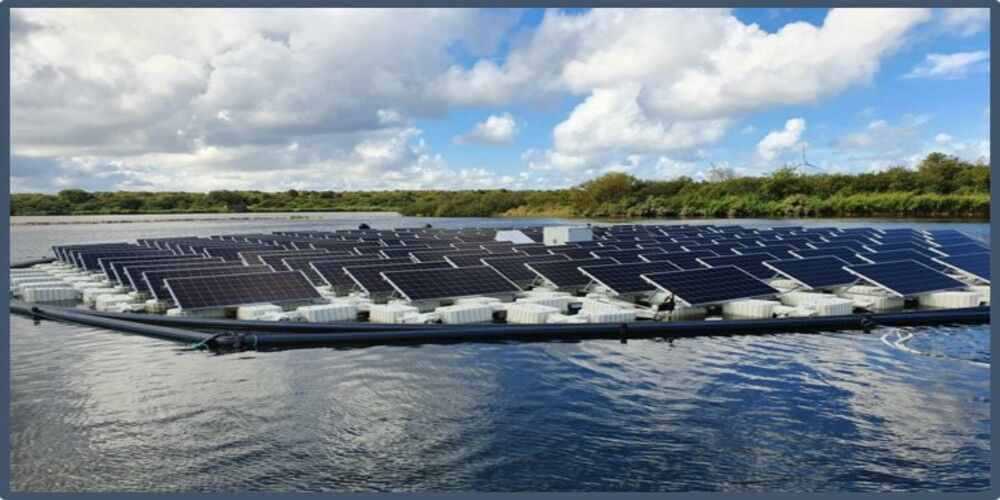 """Sunprojects: """"Overheid moet blijven investeren in zon op watersystemen"""""""