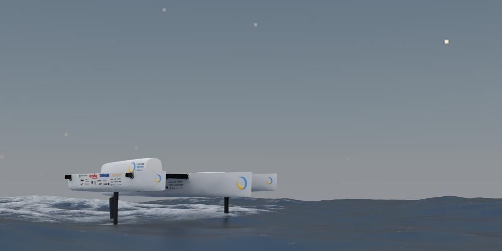 Solar Boat Team stelt voorbeeld met waterstofboot