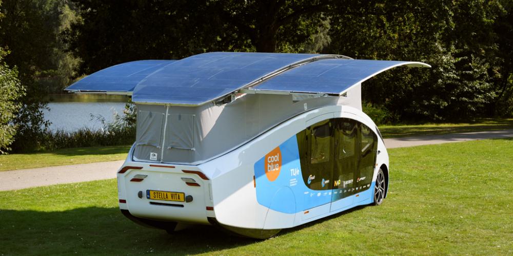 Solar Team Eindhoven onthult zelfrijdend huis